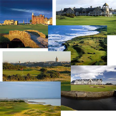 Golf Courses of St Andrews